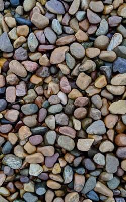 Hundewagen Kieselsteine
