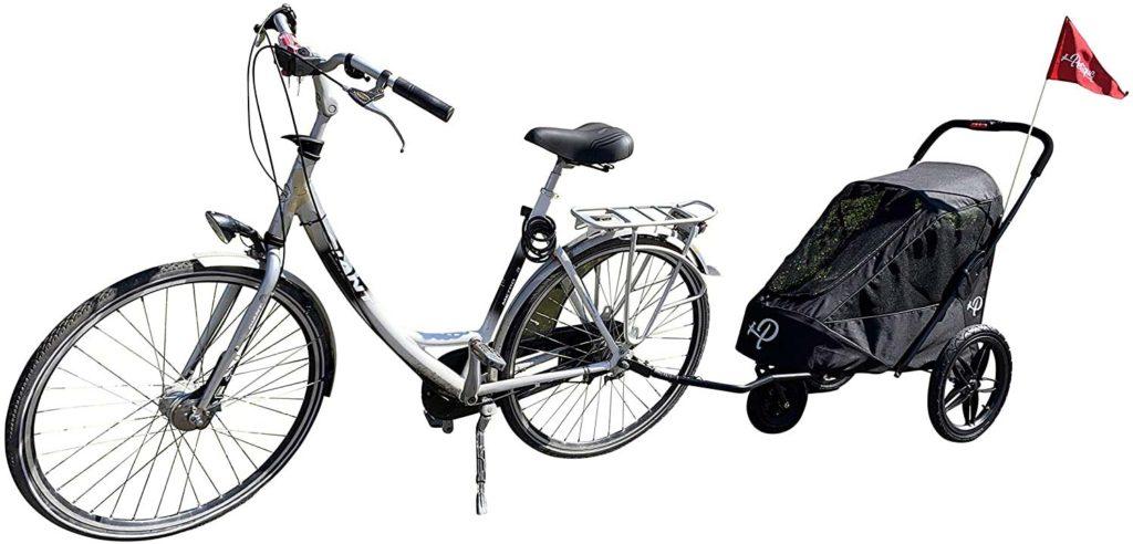 Hundebuggy Petique Breeze Fahrrad