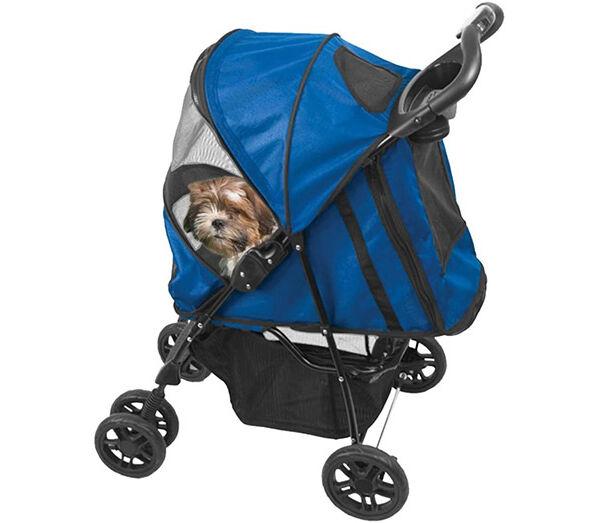 Hundebuggy Pet Gear in blau