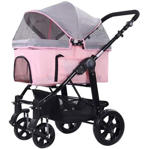 rosa Hundebuggy